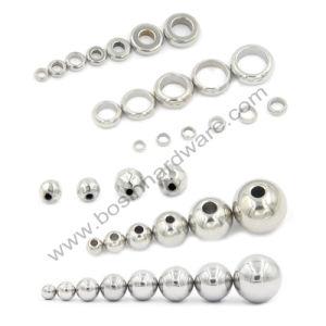 Branelli d'argento del distanziatore della sfera dell'acciaio inossidabile