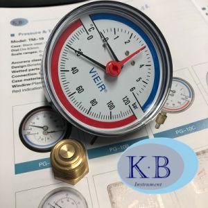 termometro di temperatura di pressione di 63mm per il commercio all'ingrosso