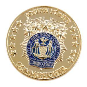 승진을%s 주문 금속 기념품 동전
