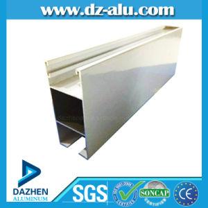 Profilo di alluminio d'argento del Matt di rivestimento del laminatoio per il portello della finestra dell'Africa
