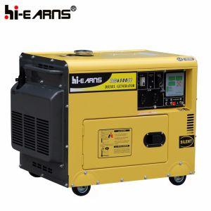 공냉식 침묵하는 유형 단 하나 실린더 디젤 엔진 발전기 (DG5500SE)