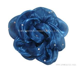 Accessori decorativi dell'indumento del fiore multicolore chiffon dei mestieri di Headwear di modo