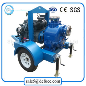 Дизельный двигатель добычи воды с самозаливкой обезвоживания насоса