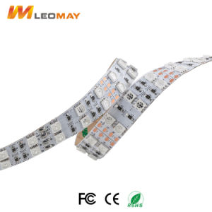 Striscia flessibile Non-Impermeabile di IP20 Epistar SMD5050 RGB 28.8W/m LED