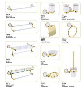 Nam de Gouden Reeks van de Toebehoren M8000 van de Badkamers van het Messing toe