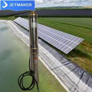 AC/DC農業のためのSoalrのパネルのアレイを用いる太陽浸水許容力の水ポンプ