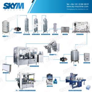 Linea di produzione di riempimento di chiave in mano dell'imballaggio dell'acqua potabile della bevanda di progetto