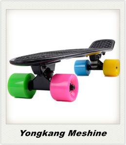 Calle de resistente plástico Surf Penny Skateboard