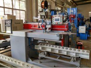 máquina de soldar vertical para o tanque de água eléctrica