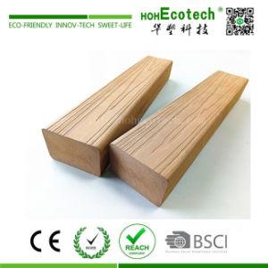 3Dによって浮彫りにされる木製の穀物紫外線抵抗力があるWPCのベンチのスラット(80S40)