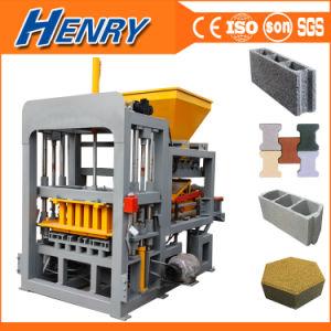 2020 Mais Banheira Venda Qt Automática4-20, máquina para fabricação de tijolos de cimento hidráulico Pavimentadora Oco máquina para fazer blocos de concreto