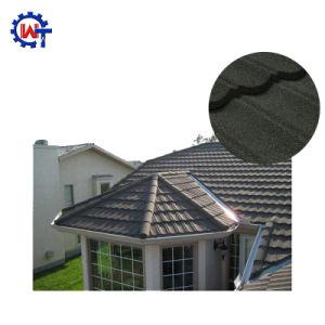 容易な構築の多彩な波形の石は金属のとらわれの屋根瓦に塗った