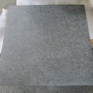 De basalto negro flameado G684 para baldosas de granito negro/pianos/Frente/la pavimentación y revestimiento de pared/escalera/exterior