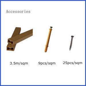 Hot Sale imperméables en plastique haute résistance du bois composite B20-155 WPC panneaux muraux avec des prix concurrentiels