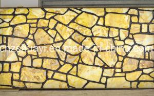 Полупрозрачные искусственный камень оникс 3D из Китая поставщика