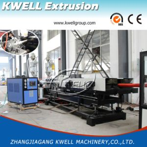 Pared doble de alta velocidad PE/PP/PVC tubo corrugado que hace la máquina