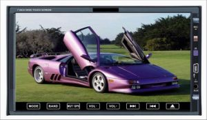 """7 """" 분리가능한 위원회 (GS7006S)가 2din 디지털 방식으로 스크린에 의하여 아래로 미끄러진다"""