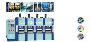 EVA Shoe Foaming Injection Molding Machine 4stations