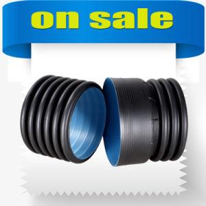 Era de buena calidad de proveedor profesional de doble pared del tubo ondulado de HDPE