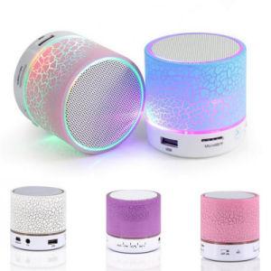 ハンズフリー携帯用小型LED軽い無線Bluetoothのスピーカー