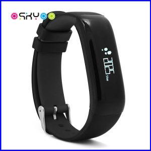 IP67 Bracelete Smart Display OLED à prova de pressão arterial Coração Monitor de freqüência de pulso
