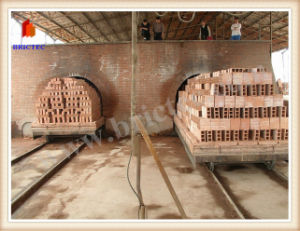 Novo design do forno de túnel para a fabricação de tijolos de barro