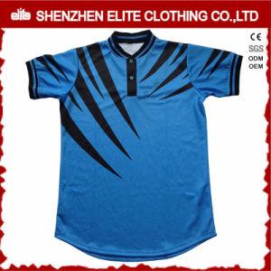 Ultimo baseball Jersey dell'azzurro di blu marino di modo di disegno per il Mens (ELTBJI-22)