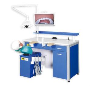 Simulateur de soins dentaires pour l éducation et de test, simulateur  d entraînement de la tête fantôme dentaire f4eb912fe75f