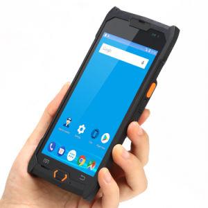 Android промышленных КПК голосовой вызов мобильный сканер штрих-кодов RFID NFC Ручной терминал