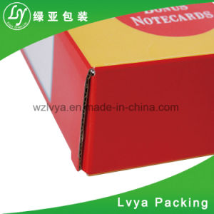 색깔 인쇄를 가진 주문 물결 모양 상자