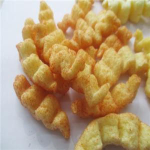Tentempiés chinos máquina extrusionadora de husillo doble de alimentos