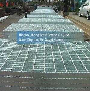 Plataforma de rejilla de acero galvanizado de piso paseo