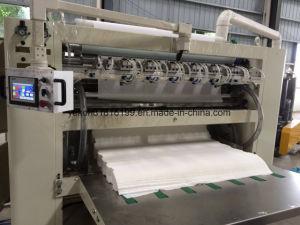 Машина лицевой ткани складывая с слоением