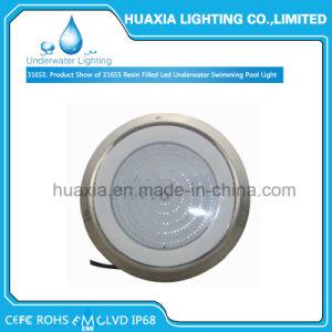 indicatore luminoso della piscina riempito resina subacquea di 316ss LED