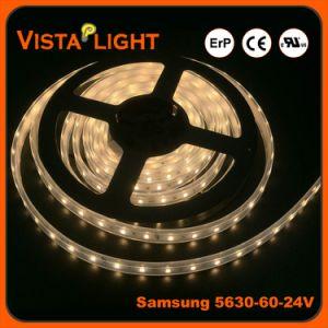 Luz impermeável SMD LED 5630 tira flexível para discotecas