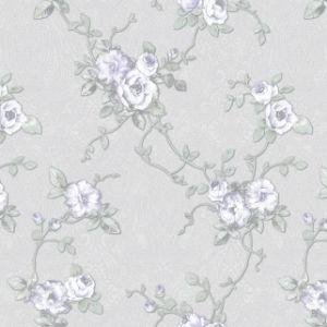 carta da parati domestica del PVC di 3D 1.06m con il piccolo disegno del fiore di modo