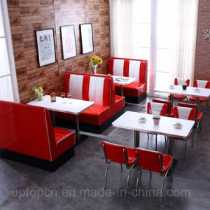 Antique 1950 Restaurante de estilo americano silla de comedor ...