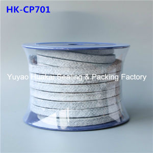 Carbonized волокна с тефлоновой подложки тефлоновой смазкой экранирующая оплетка сальника уплотнение