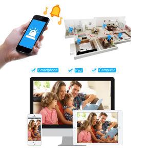 Het ControleSysteem van de Veiligheid van de Camera van kabeltelevisie IP van het Huis van WiFi van Toesee 4CH 960p met 15  LCD Vertoning Ingebouwde 2tb Harde Aandrijving