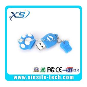 Пвх резиновых настраиваемых флэш-накопитель USB (XST-UZ003)