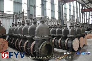 Alta presión válvula de compuerta de placa plana