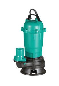 손잡이 Portable를 가진 Wqd 1HP 무쇠 하수 오물 잠수할 수 있는 펌프