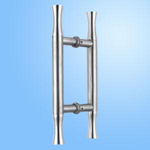 Aço inoxidável Puxador da porta de vidro