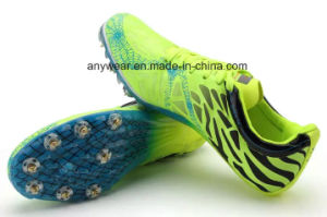 Seguimiento de la ejecución de la uña de Cricket de béisbol Deportes zapatillas Zapatos de pico (133)