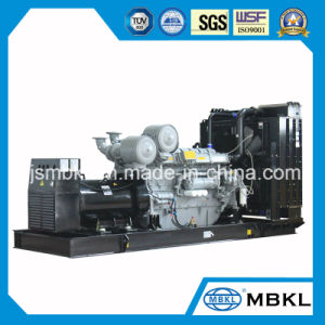 grande generatore della centrale elettrica 1000kw/1250kVA usando il modello BRITANNICO 4012-46twg2a del motore diesel della Perkins