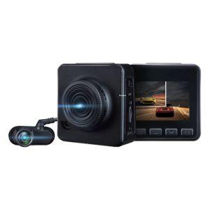 De Digitale Videorecorder met twee kanalen van de Auto DVR met Voor Volledige HD 1080P en de ReserveNok van het Streepje van de Camera 720p Dubbele