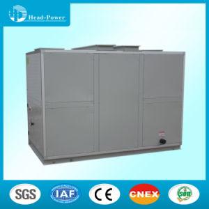 La unidad de manejo de aire fresco con filtros de aire