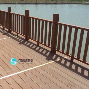 圧力によって扱われる木製および防水プールWPCのDecking