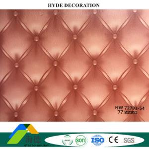 Un film plastifié imperméable prix d'usine ignifuge panneaux en PVC PVC Panneau mural 72701-54 PVC Panneaux de plafond