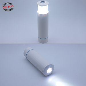 Zy-4005 ABS portable Lampe torche à LED rechargeable d'urgence de la lumière flambeau avec la Banque d'alimentation